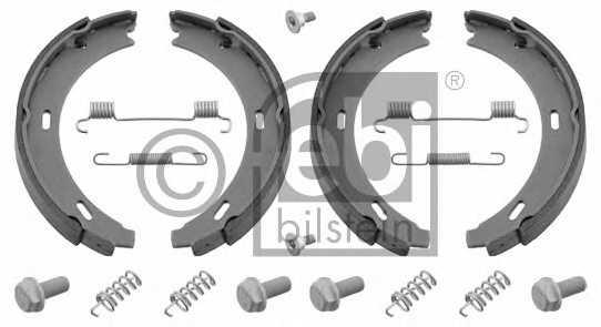 Комплект колодок стояночной тормозной системы FEBI BILSTEIN 02100 - изображение