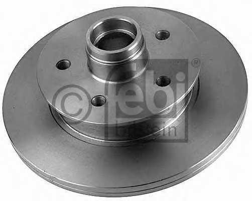Тормозной диск FEBI BILSTEIN 02583 - изображение