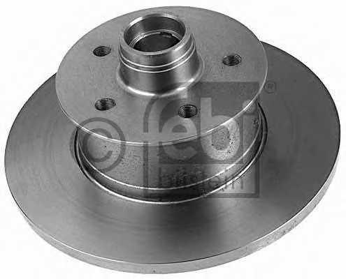 Тормозной диск FEBI BILSTEIN 02584 - изображение