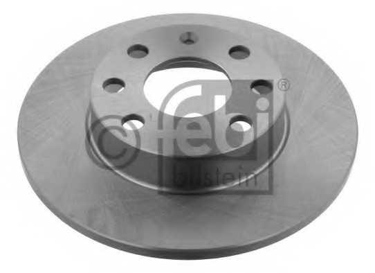 Тормозной диск FEBI BILSTEIN 02586 - изображение