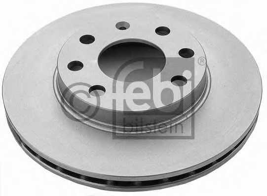 Тормозной диск FEBI BILSTEIN 02806 - изображение