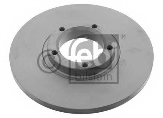 Тормозной диск FEBI BILSTEIN 03166 - изображение