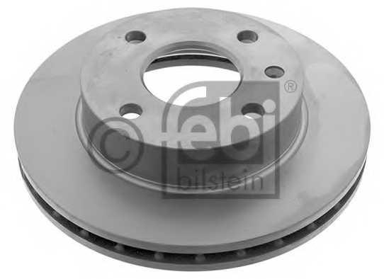 Тормозной диск FEBI BILSTEIN 03167 - изображение