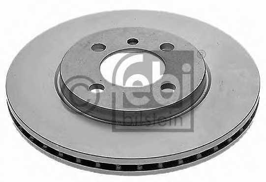Тормозной диск FEBI BILSTEIN 04059 - изображение