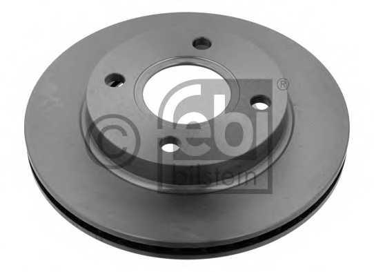 Тормозной диск FEBI BILSTEIN 05649 - изображение