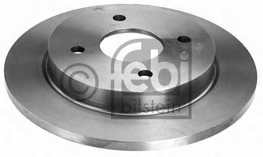 Тормозной диск FEBI BILSTEIN 05652 - изображение