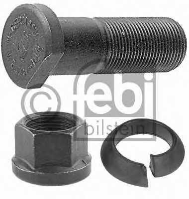 Болт крепления колеса FEBI BILSTEIN 06281 - изображение
