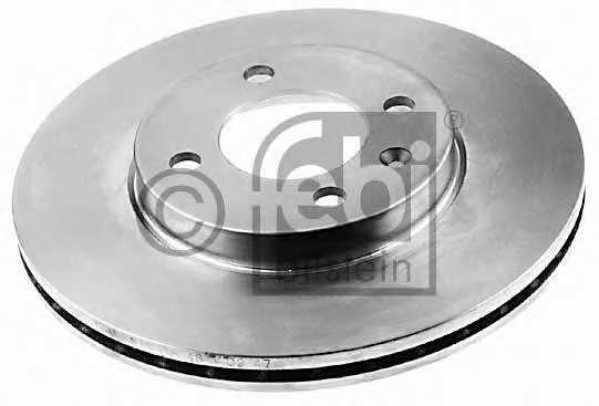 Тормозной диск FEBI BILSTEIN 06512 - изображение