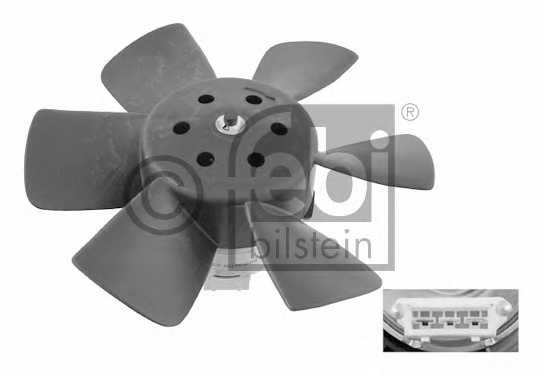 Вентилятор охлаждения двигателя FEBI BILSTEIN 06989 - изображение