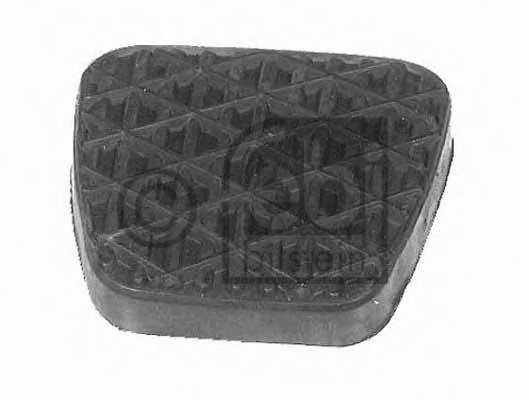 Педальные накладка, педаль тормоз FEBI BILSTEIN 07615 - изображение
