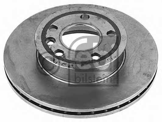 Тормозной диск FEBI BILSTEIN 08072 - изображение