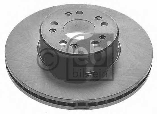 Тормозной диск FEBI BILSTEIN 08128 - изображение