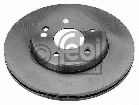 Тормозной диск FEBI BILSTEIN 08129 - изображение