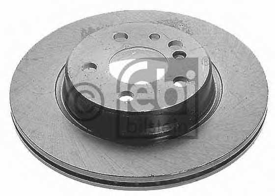 Тормозной диск FEBI BILSTEIN 08130 - изображение