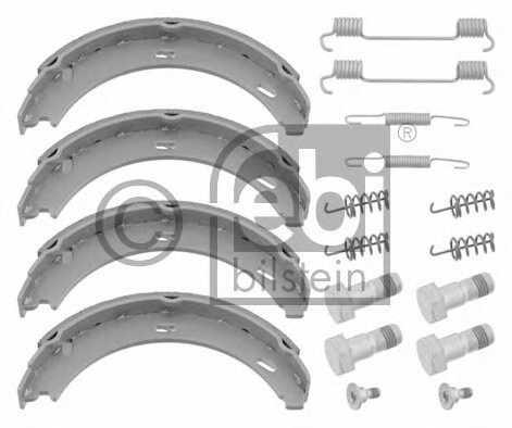 Комплект колодок стояночной тормозной системы FEBI BILSTEIN 08200 - изображение