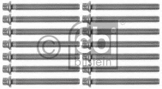 Комплект болтов головки цилидра FEBI BILSTEIN 08245 - изображение
