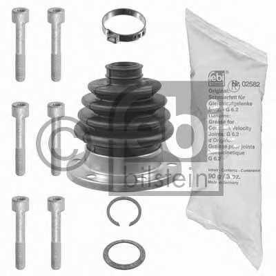 Комплект пылника приводного вала FEBI BILSTEIN 08303 - изображение