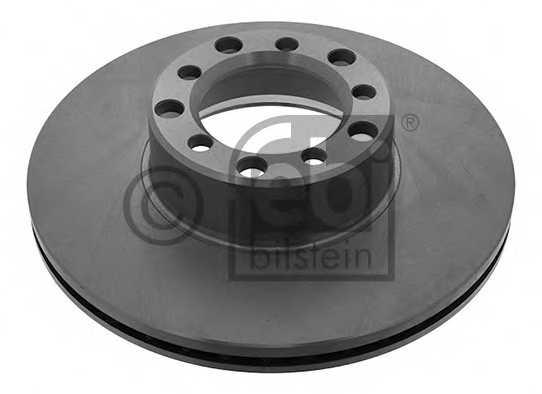 Тормозной диск FEBI BILSTEIN 08546 - изображение