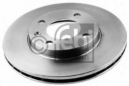 Тормозной диск FEBI BILSTEIN 08557 - изображение