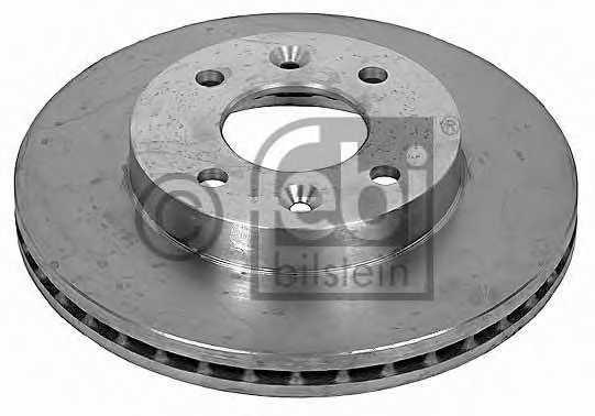 Тормозной диск FEBI BILSTEIN 09072 - изображение