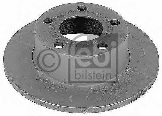 Тормозной диск FEBI BILSTEIN 09076 - изображение