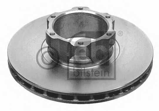 Тормозной диск FEBI BILSTEIN 09678 - изображение