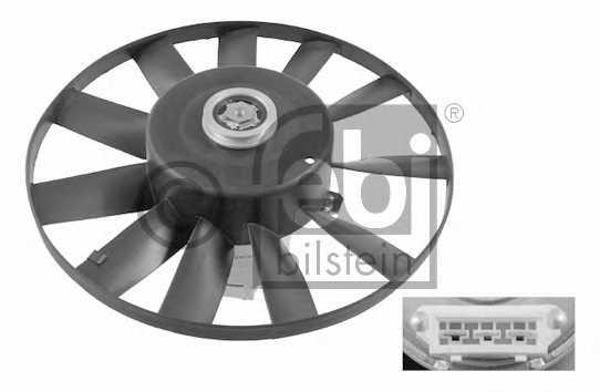 Вентилятор охлаждения двигателя FEBI BILSTEIN 09809 - изображение