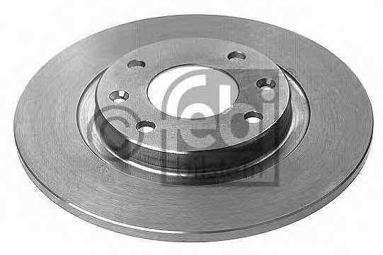Тормозной диск FEBI BILSTEIN 10317 - изображение