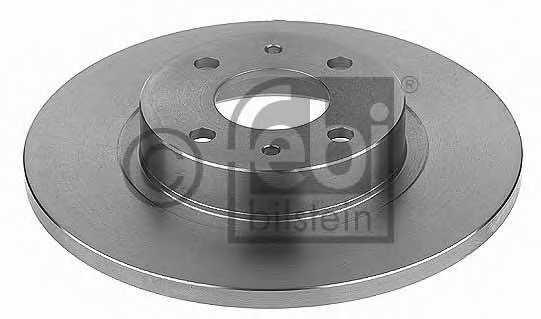 Тормозной диск FEBI BILSTEIN 10618 - изображение