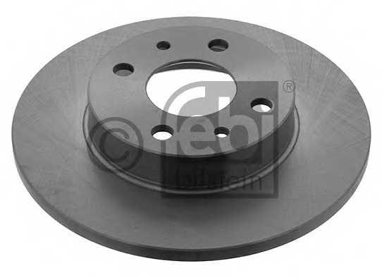Тормозной диск FEBI BILSTEIN 10619 - изображение