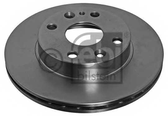 Тормозной диск FEBI BILSTEIN 10624 - изображение