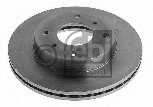 Тормозной диск FEBI BILSTEIN 10628 - изображение