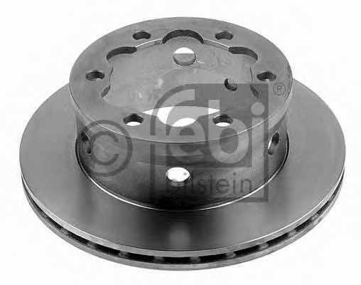Тормозной диск FEBI BILSTEIN 10639 - изображение