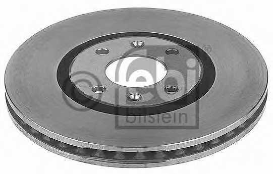Тормозной диск FEBI BILSTEIN 10679 - изображение