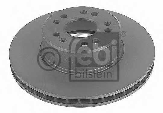Тормозной диск FEBI BILSTEIN 10684 - изображение
