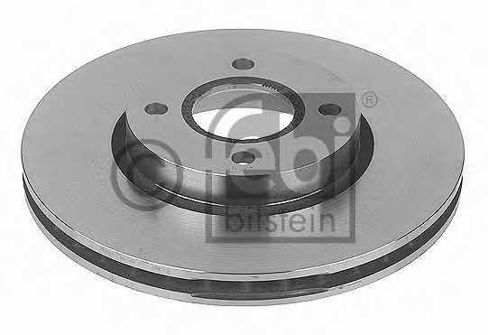 Тормозной диск FEBI BILSTEIN 10706 - изображение