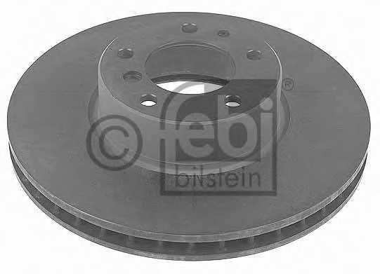 Тормозной диск FEBI BILSTEIN 10751 - изображение