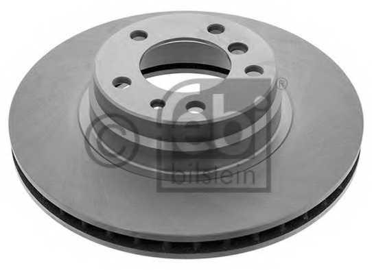 Тормозной диск FEBI BILSTEIN 10752 - изображение