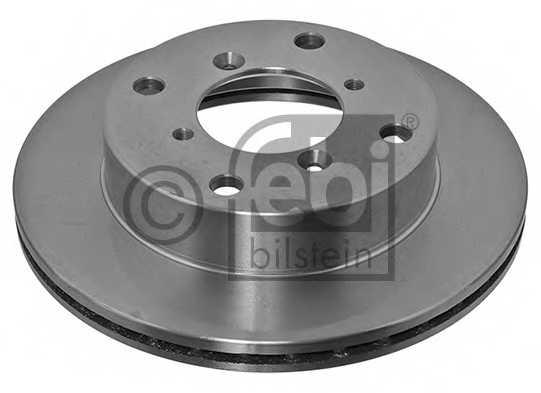 Тормозной диск FEBI BILSTEIN 10867 - изображение