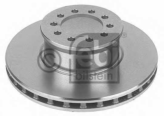 Тормозной диск FEBI BILSTEIN 10922 - изображение