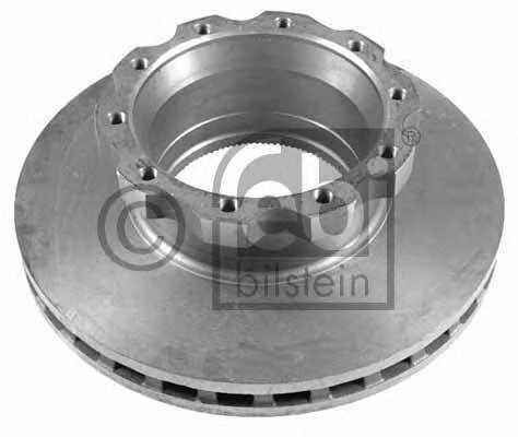Тормозной диск FEBI BILSTEIN 10932 - изображение
