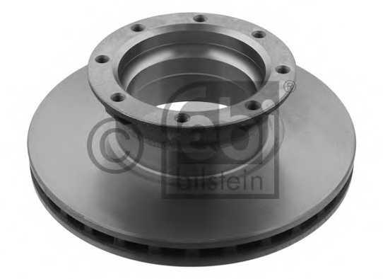 Тормозной диск FEBI BILSTEIN 10935 - изображение
