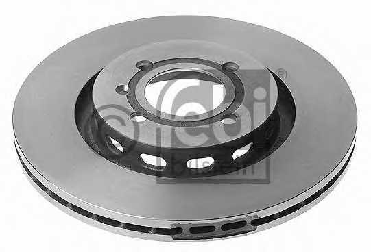 Тормозной диск FEBI BILSTEIN 11206 - изображение