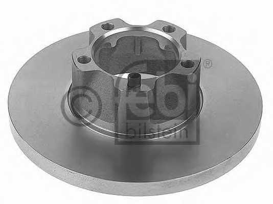 Тормозной диск FEBI BILSTEIN 11393 - изображение