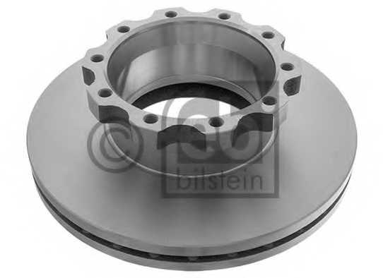 Тормозной диск FEBI BILSTEIN 11411 - изображение