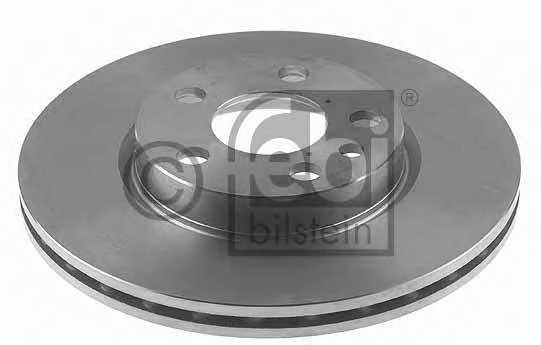 Тормозной диск FEBI BILSTEIN 12036 - изображение