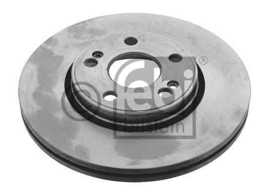 Тормозной диск FEBI BILSTEIN 12097 - изображение