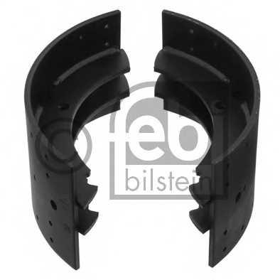 Комплект тормозных колодок передний/задний для VOLVO F 10, F 12, F 16, FH 12, FH 16, FL 10, FL 12, FL 6, FL 7, FM 7, FM 9 <b>FEBI BILSTEIN 12215</b> - изображение