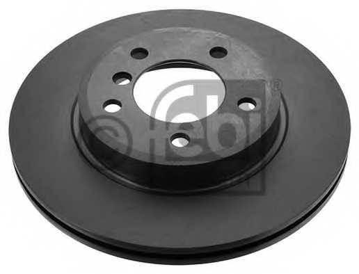 Тормозной диск FEBI BILSTEIN 12323 - изображение