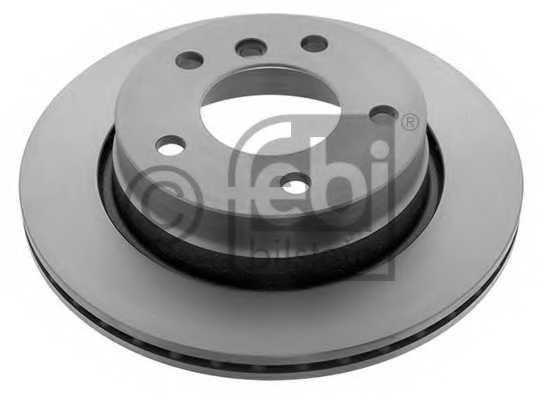 Тормозной диск FEBI BILSTEIN 12324 - изображение